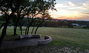 Looking Over the Hill Country