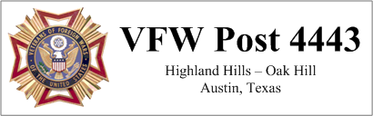 VFW Post 4443 :: Home Page